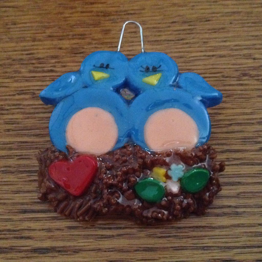 Blue-Birds-In-Nest