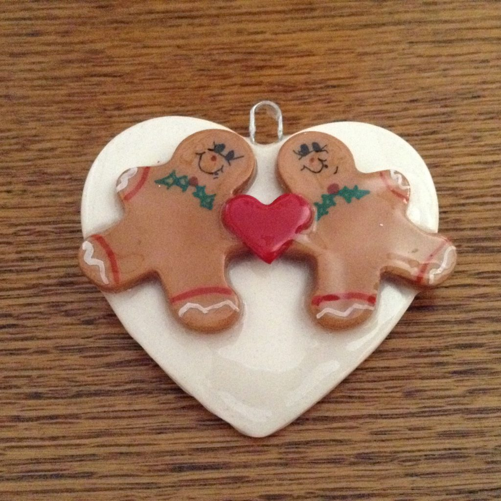 Gingerbreads on Heart